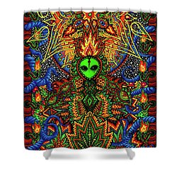 How Do You Like It Here Shower Curtain