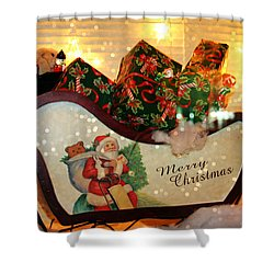 How Much For That Sleigh In The Window? Shower Curtain