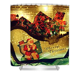 How Much For That Sleigh In The Window? IIi Shower Curtain