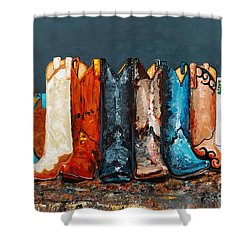 How The West Was Really Won Shower Curtain