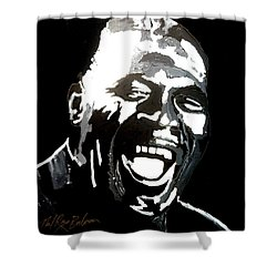 howlin Wolf Shower Curtain
