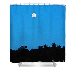 Hualapai Night Shower Curtain