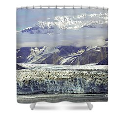 Hubbard Glacier Shower Curtain
