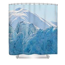 Hubbard Glacier Shower Curtain