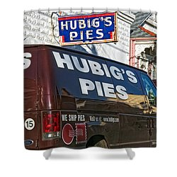 Hubig's Pies 2 New Orleans Shower Curtain