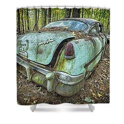 Hudson Hornet Shower Curtain