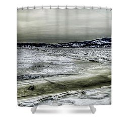 Hudson River Cold Spring, New York Shower Curtain