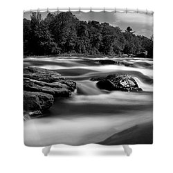 Shower Curtain featuring the photograph Hudson River Solice by Darleen Stry