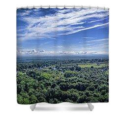 Hudson Valley View Shower Curtain