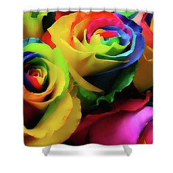 Hue Heaven Shower Curtain by JAMART Photography