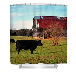 Huffacker Farm Shower Curtain