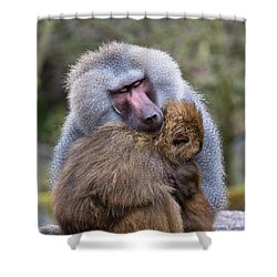 Shower Curtain featuring the photograph Hug Me by Scott Carruthers