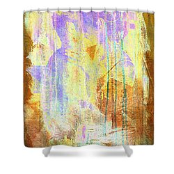 Hugging Canvas Shower Curtain by Andrea Barbieri