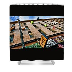 Hugo Hotel  Shower Curtain