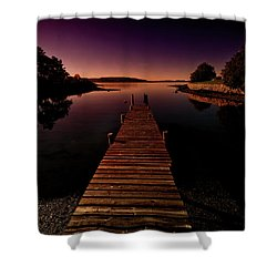 Hukodden Shower Curtain