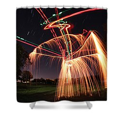 Hula Dancer Shower Curtain by Andrew Nourse