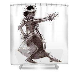 Hula Dancer Keala Shower Curtain