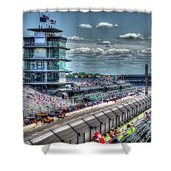 Hulman Suites Shower Curtain