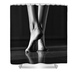 Shower Curtain featuring the photograph Human by Laura Fasulo