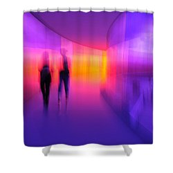 Human Reflections Shower Curtain