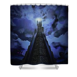 Humanity's Last Stand Shower Curtain