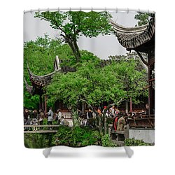 Humble Administrators Garden Shower Curtain