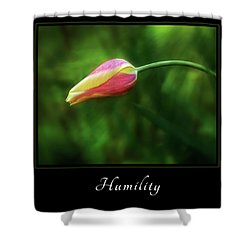Shower Curtain featuring the photograph Humility 1 by Mary Jo Allen