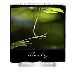 Shower Curtain featuring the photograph Humility 2 by Mary Jo Allen