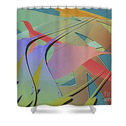 Hummingbird Convention Shower Curtain