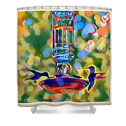 Hummers Shower Curtain