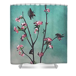Hummingbears Shower Curtain
