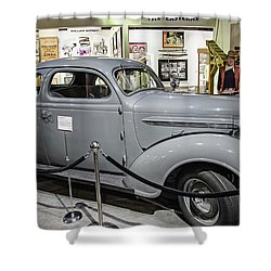 Humphrey Bogart High Sierra Car Shower Curtain