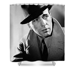 Humphrey Bogart Shower Curtain
