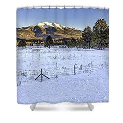 Humphreys Peak Shower Curtain