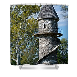 Hunt Club Watchtower Shower Curtain