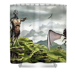 Hunter - Hound Shower Curtain