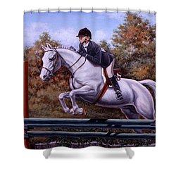 Hunter Pony Shower Curtain