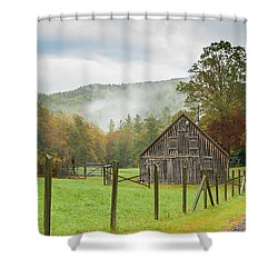 Hunting Cabin-3 Shower Curtain