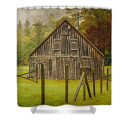Hunting Cabin-4 Shower Curtain