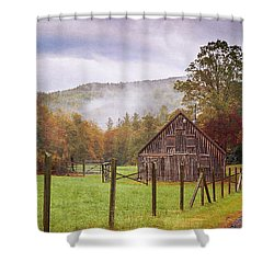 Hunting Cabin-5 Shower Curtain