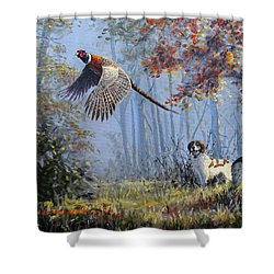 Hunting Stories Shower Curtain