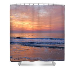 Huntington Beach Sunrise, Nc Shower Curtain