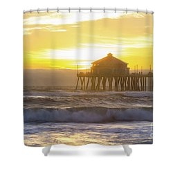 Huntington Peir 2 Shower Curtain