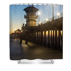 Huntington Peir  Shower Curtain