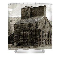Hunts Ferry Barn Shower Curtain by David Lee Thompson
