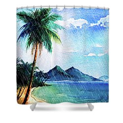 Hurricane Season Shower Curtain