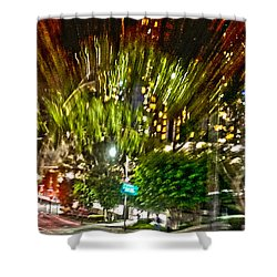 hurry up - in L.A. Shower Curtain