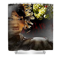 Hurtful Memories Shower Curtain