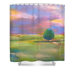 Hush  Shower Curtain