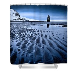 Hvitserkur, Iceland Shower Curtain